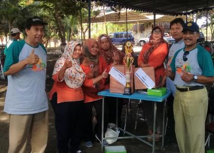 KWT Boma Prawotogati Sindet Juara Lomba Cerdas Cermat Hari Pangan