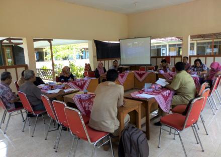 Rapat TPID Kecamatan Jetis