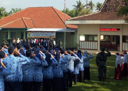 Upacara Hari Pahlawan Di Kecamatan Jetis