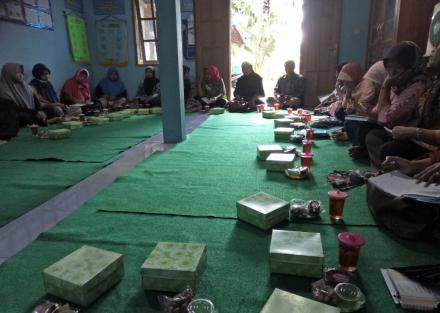Pertemuan Pokja Kampung KB Cembing Nopember 2018