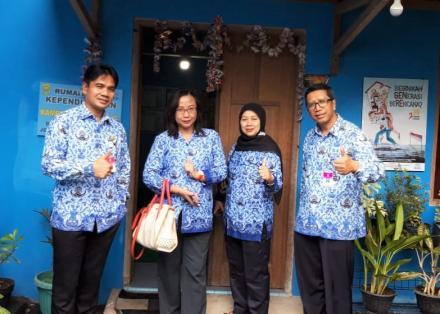 Monev DPPKBPMD Di Kampung KB Cembing