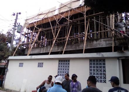 Renovasi Masjid Nur Hadana Botorawi Pedukuhan Cembing