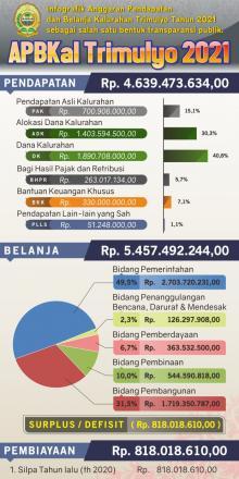 Anggaran Pendapatan dan Belanja Kalurahan Trimulyo TA. 2021