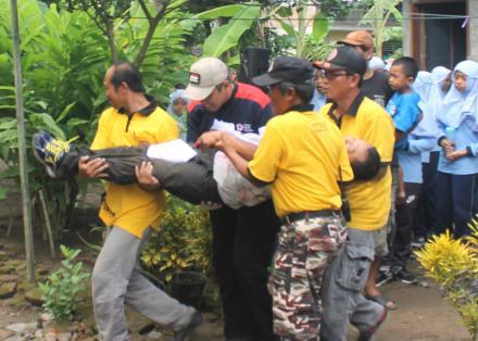 Evakuasi Korban Kebakaran 1